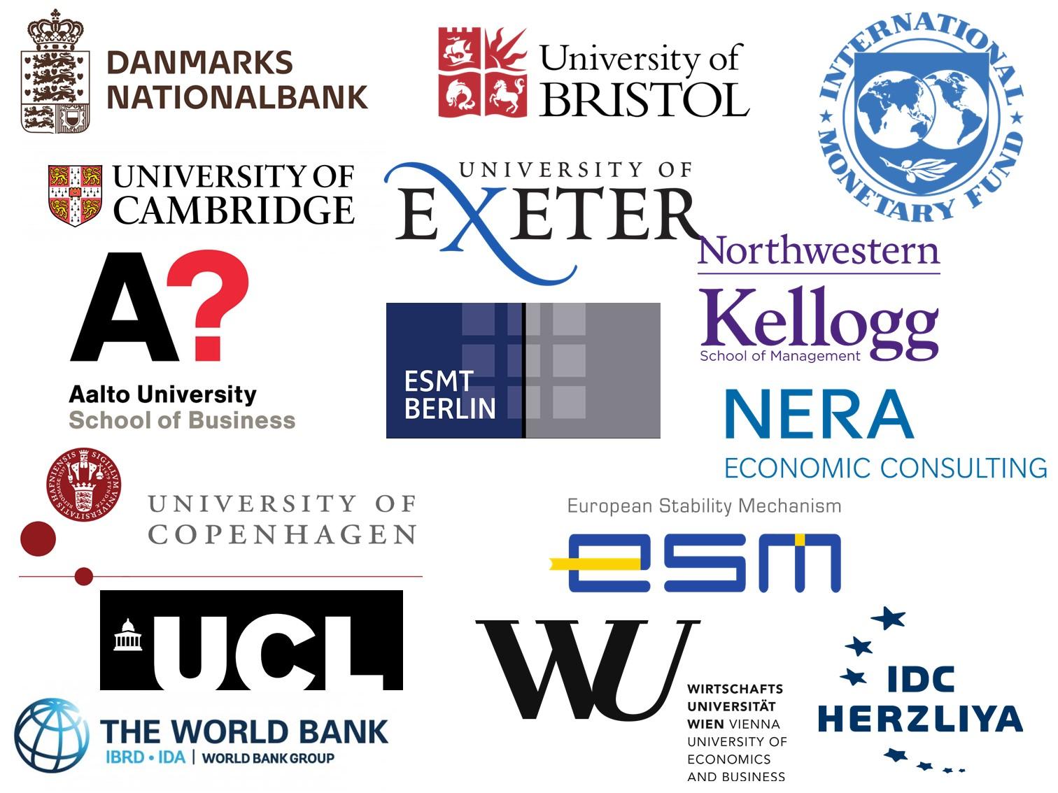 Logos of Job Placements