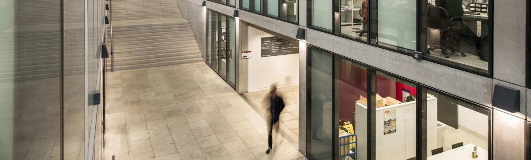 Interior of Economics Department