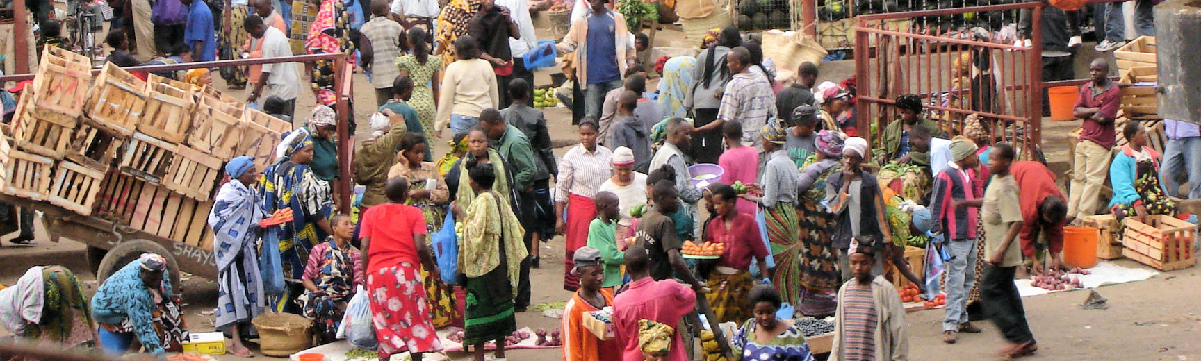 African open-air market