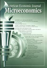 American Economic Journal Microeconomics