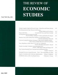 The Review of Economic Studies