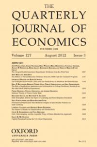 The Quartely Journal of Economics