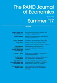 The RAND Journal of Economics